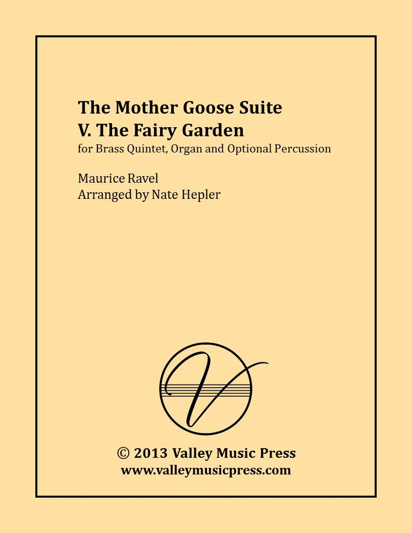 Ravel - Mother Goose The Fairy Garden (BQ, Organ, Percussion)