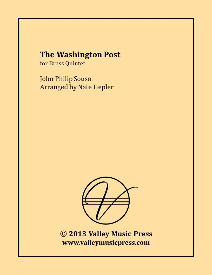 Sousa - The Washington Post (Brass Quintet)